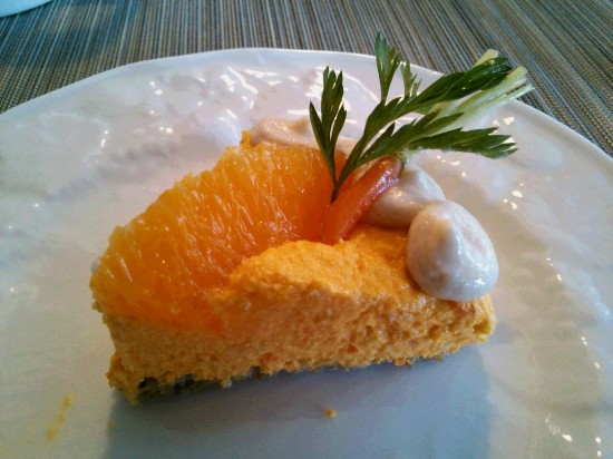 RAWケーキにんじんオレンジ